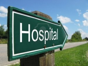 8065525-hospital-road-sign