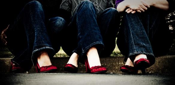 heels-red-shoes-jeans-women-girl-woman-friend