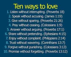 Joy Ten Ways to Love