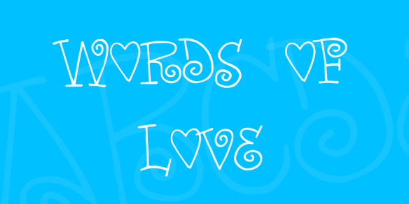 words-of-love-font-1-big